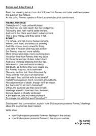 romeo and juliet gcse 9 1 u0027outstanding u0027 resources by