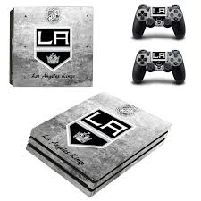 game design los angeles los angeles kings ps4 pro edition by video games design decal on