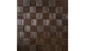 Wall Panel Harmony Cubes Decorative Thermoplastic Tile 24x24