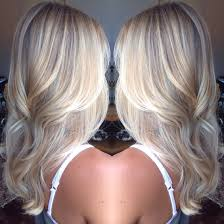 platinum blonde balayage hair style perfect for long or short hair