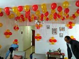 balloon decoration for birthday at home balloon surprise balloon decoration at home in delhi for