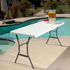 Folding Chair With Table Lifetime 5 Ft Light Commercial Fold In Half Tables With Handle 14