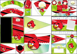 angry birds free party printables fiesta geeks