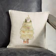 christmas tree owl pocket pillow robert redford u0027s sundance catalog