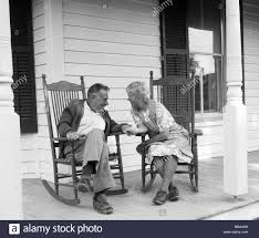 Rocking Chair Old Fashioned Two Old Fashioned Rocking On Stock Photos U0026 Two Old Fashioned