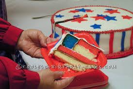 coolest patriotic flag cake
