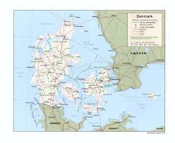Baltic Sea Map Denmark Maps Perry Castañeda Map Collection Ut Library Online
