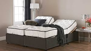 mattress split king adjustable bed frame with nightstand king