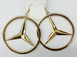 mercedes jewelry hoop earrings fashion jewelry ebay