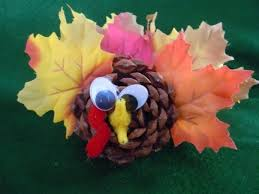 thanksgiving pinecone turkey craft find craft ideas