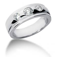 3 diamond rings mens 3 diamond ring 0 75 carat diamond 14k gold mens rings