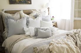 bedroom purple shabby chic bedding light hardwood alarm clocks