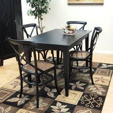 carolina cottage dining table shop carolina cottage prairie antique black wood dining table at