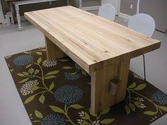 Unfinished Dining Room Tables Reclaimed Lumber Unfinished Dirty Top Oak Dining Table With Bread