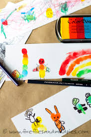 hello wonderful 10 awesome and fun fingerprint art projects for