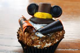 walt disney thanksgiving new thanksgiving pumpkin cupcake with maple buttercream icing in