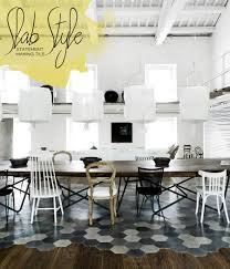 living trend unique kitchen tile design dine x design