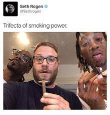 Seth Rogen Meme - seth rogen trifecta of smoking power meme on me me