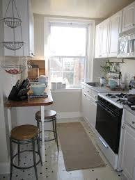narrow kitchen narrow kitchen with breakfast bar kitchen and decor