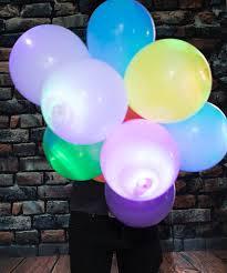 halloween led balloons led light up balloons the green head