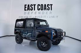 land rover jeep defender for sale the transformation of a land rover defender being hand built in