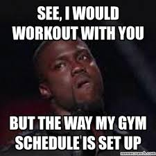 Kevin Heart Memes - kevin hart gym