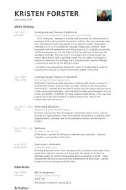 Scientific Resume Examples by Download Undergraduate Resume Sample Haadyaooverbayresort Com