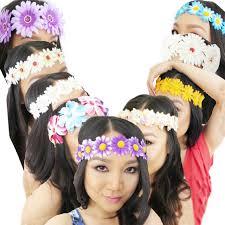 festival flower headbands gorgeous flower headbands for sale festival fanatics