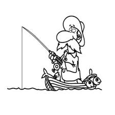 coloring pages fisherman kids drawing and coloring pages marisa
