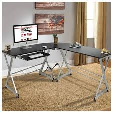 Computer Laptop Desk Bestchoiceproducts Rakuten L Shape Wooden Corner Computer Desk