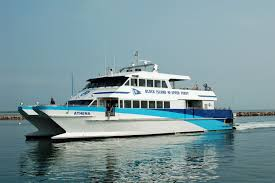 getting to block island by ferry flight or train