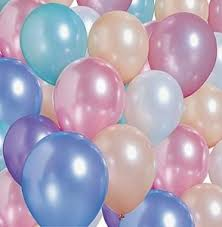 metallic balloons pastel party balloons party pattern pastelcolors glam