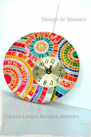 20 best relojes images on pinterest mosaic ideas clocks and