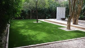 turf backyard home design inspirations
