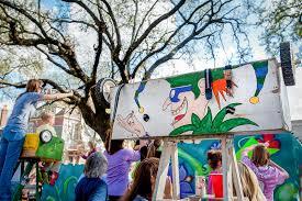 mardi gras ladders centuries dictate modern mardi gras experiences tulane
