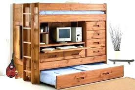 dresser with desk attached loft bed dresser desk bunk with intended for and inspirations 11