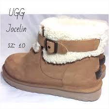 jocelin ugg boots sale 47 ugg shoes ugg jocelin chestnut nubuck leather boots sz