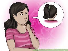 how to keep women hairstyle simple and neat 4 ways to do simple quick hairstyles for long hair wikihow