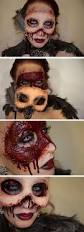 Makeup Ideas For Halloween Costumes by Best 25 Gory Halloween Makeup Ideas On Pinterest Special