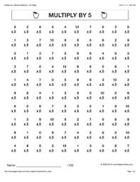 grade 4 math worksheets vertical multiplication