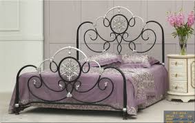 bedroom home furniture stainless steel bed manufacturer from