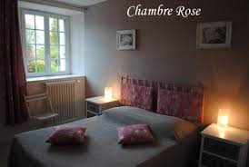 chambre d h es cancale pink bedroom