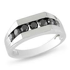 Wedding Rings Walmart by Black Diamond Miadora 10 K White Gold 1ct Black Diamond Men U0027s