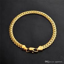 silver chain bracelet men images 2018 18k gold silver chain bracelet plated chunk bracelet chunky jpg