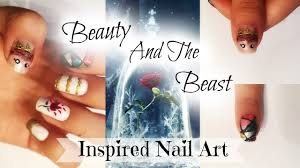 beauty and the beast nail art 2017 youtube