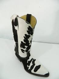 hand crafted genuine calf hair cowboy boots made to order any size