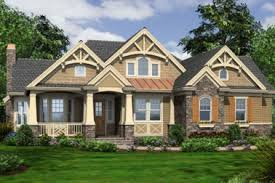 mesmerizing craftsman style one story house plans gallery best