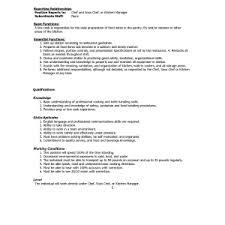 Fast Food Job Resume by Download Restaurant Server Resume Dietary Aideserver Job