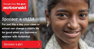 sponsor a child as a school actionaid uk