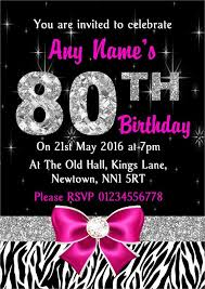 22 80th birthday invitation templates u2013 free sample example
